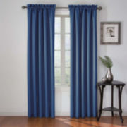 Eclipse® Corinne Rod-Pocket Blackout Curtain Panel