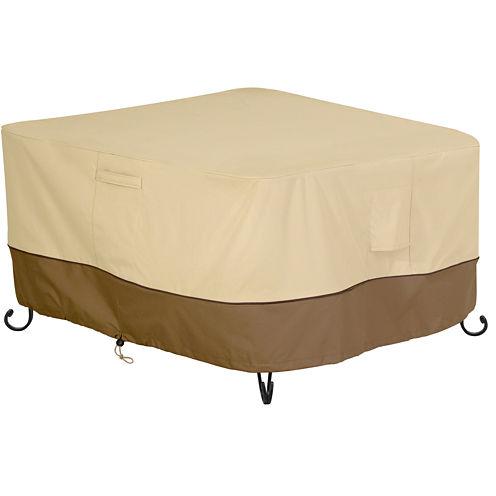 """Classic Accessories® Veranda 42"""" Square Fire Pit Table Cover"""