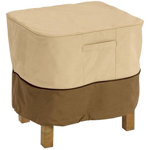 Classic Accessories® Veranda Large Square Ottoman/Side Table Cover