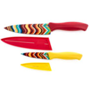 Fiesta® 4-pc. Chevron Decal Cutlery Set