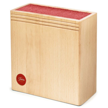 jcpenney.com | Fiesta® Wood Scarlet Bristle Knife Block