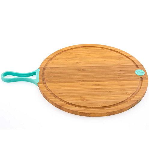 "Fiesta® 14"" Bamboo Paddle Cutting Board"