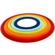 Fiesta® 5-pc. Multicolor Trivet Set
