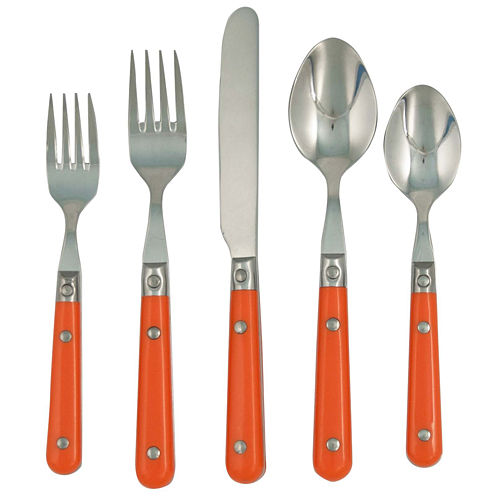 LePrix 20-pc. Persimmon Flatware Set