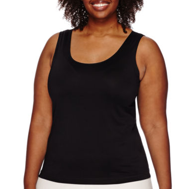 jcpenney.com | Worthington® Essential Tank Top - Plus