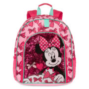 Disney Collection Pink Minnie Mouse Backpack