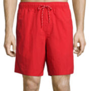 St. John's Bay® Solid Volley Swim Trunks