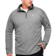 Champion® Long-Sleeve Quarter-Zip Shirt - Big & Tall