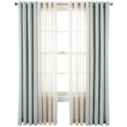 Studio™ Pearlized Metallic and Cotton Linen Window Treatments