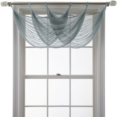 jcpenney.com | MarthaWindow™ Voile Waterfall Valance