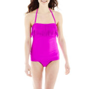 Arizona Fringe Bandeaukini Swim Top or Side-Cinched Bottoms