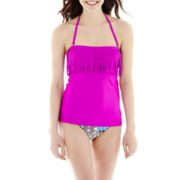 Arizona Fringe Bandeaukini Swim Top or Print Bottoms
