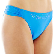 Arizona Laser-Cut Hipster Swim Bottoms