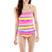 Arizona Striped Bandeaukini Swim Top or Hipster Bottoms