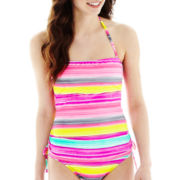 Arizona Striped Bandeaukini Swim Top
