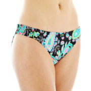 Arizona Paisley Print Hipster Swim Bottoms