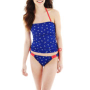 Arizona Nautical Print Bandeaukini Swim Top or Hipster Bottoms