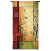 Garden Dance I Wall Tapestry