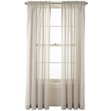 jcpenney.com | MarthaWindow™ Sunset Rod-Pocket Sheer Panel