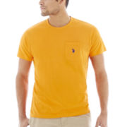 U.S. Polo Assn.® Crewneck Pocket Tee