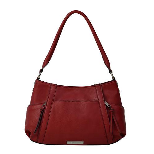 Liz Claiborne® City Top-Zip Shoulder Bag