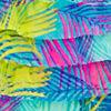Blue/leafy Palms