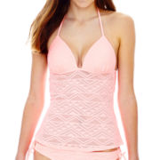 Arizona Crochet Halterkini Swim Top - Juniors