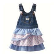 OshKosh B'gosh® Tiered Jumper - Baby Girls 3m-24m