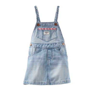 jcpenney.com | OshKosh B'gosh® Denim Jumper - Baby Girls 3m-24m