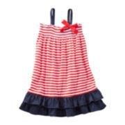 OshKosh B'gosh® Ruffle Jersey Dress - Girls 4-6x