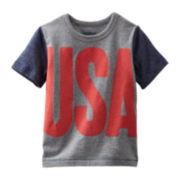 OshKosh B'gosh® Graphic USA Tee - Toddler Boys 2t-5t