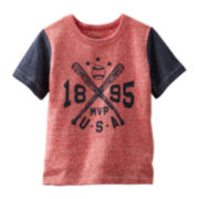 OshKosh B'gosh® Graphic Baseball Tee - Toddler Boys 2t-5t