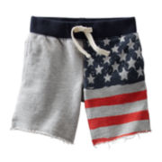 OshKosh B'gosh® USA French Terry Shorts - Toddler Boys 2t-5t