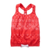 OshKosh B'gosh® Bandana Tank - Toddler Girls 2t-5t