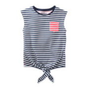 OshKosh B'gosh® Striped Pocket Tee - Toddler Girls 2t-5t