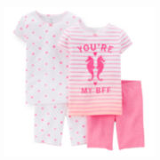 Carter's® 4-pc. Pajama Set - Baby Girls 6m-24m