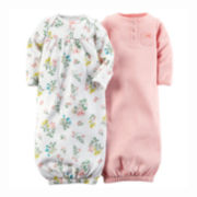 Carter's® 2-pk. Sleeper Gowns - Baby Girls One Size