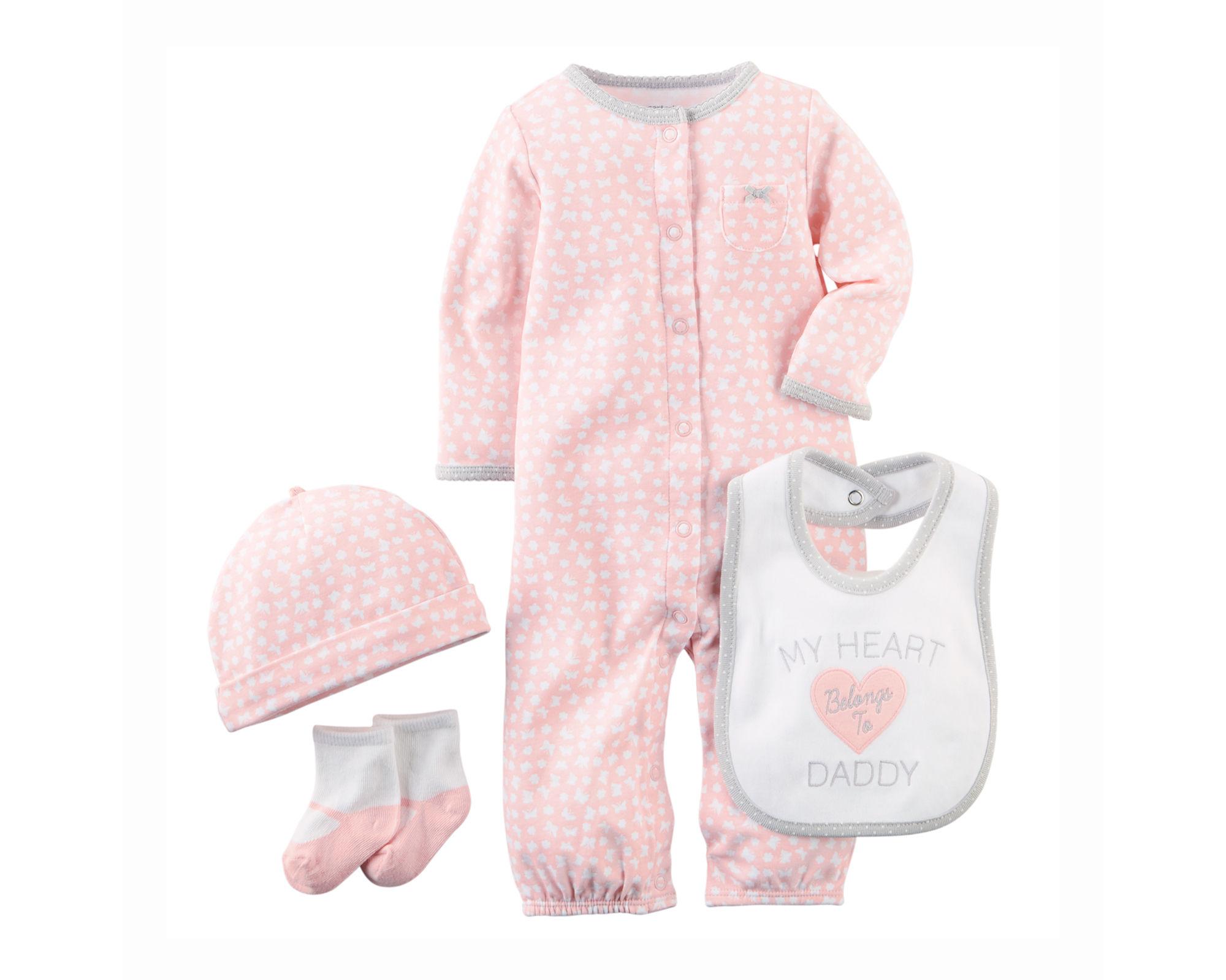 UPC 888510756989 - Carter's® Baby Girls' 4-Piece Take-Me ...