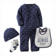 Carter's® 4-pc. Layette Set - Baby Boys newborn-9m