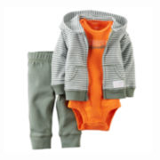 Carter's® Bodysuit, Jacket and Pants Set - Baby Boys newborn-12m