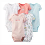 Carter's® 5-pk. Bodysuit - Baby Girls newborn-24m