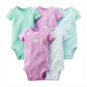 Carter's® 5-pk. Bodysuits - Baby Girls newborn-24m