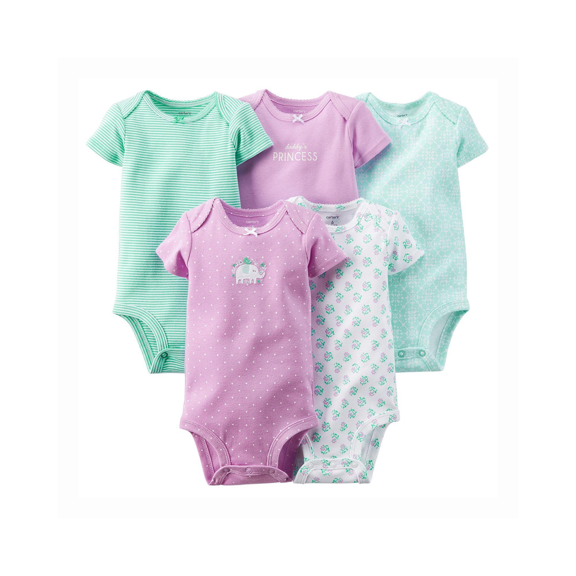 12fa97063 UPC 888510753940 - Carter's 5-pk. Bodysuits - Baby Girls newborn-24m ...