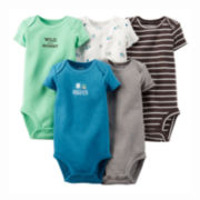 Carter's® 5-pk. Bodysuits - Baby Boys newborn-24m