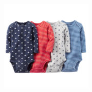 Carter's® 4-pk. Printed Bodysuits - Baby Boys newborn-24m