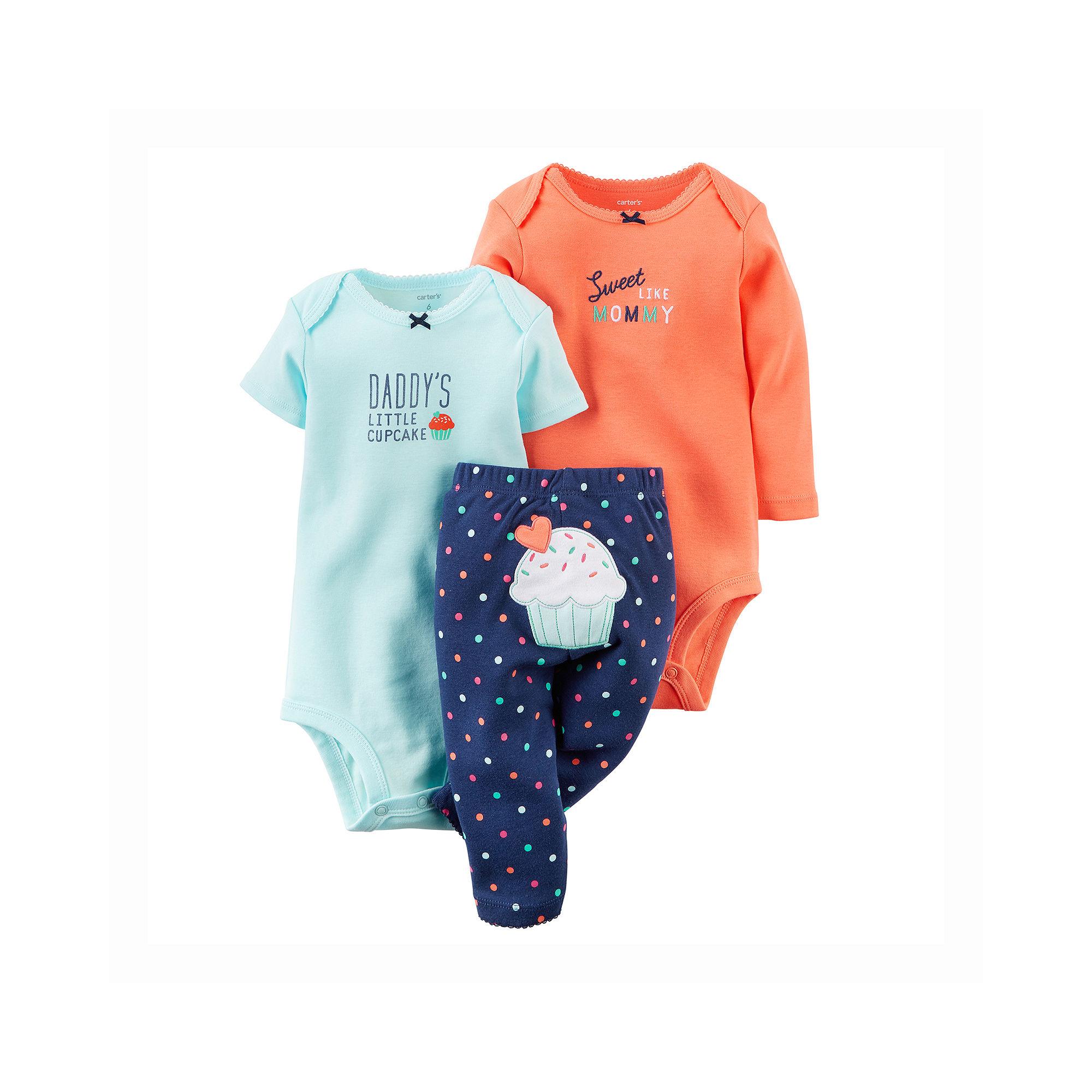 7f3da51589ad UPC 888510756033 - Carter s 3-pc. Bodysuits and Pants Set - Baby ...