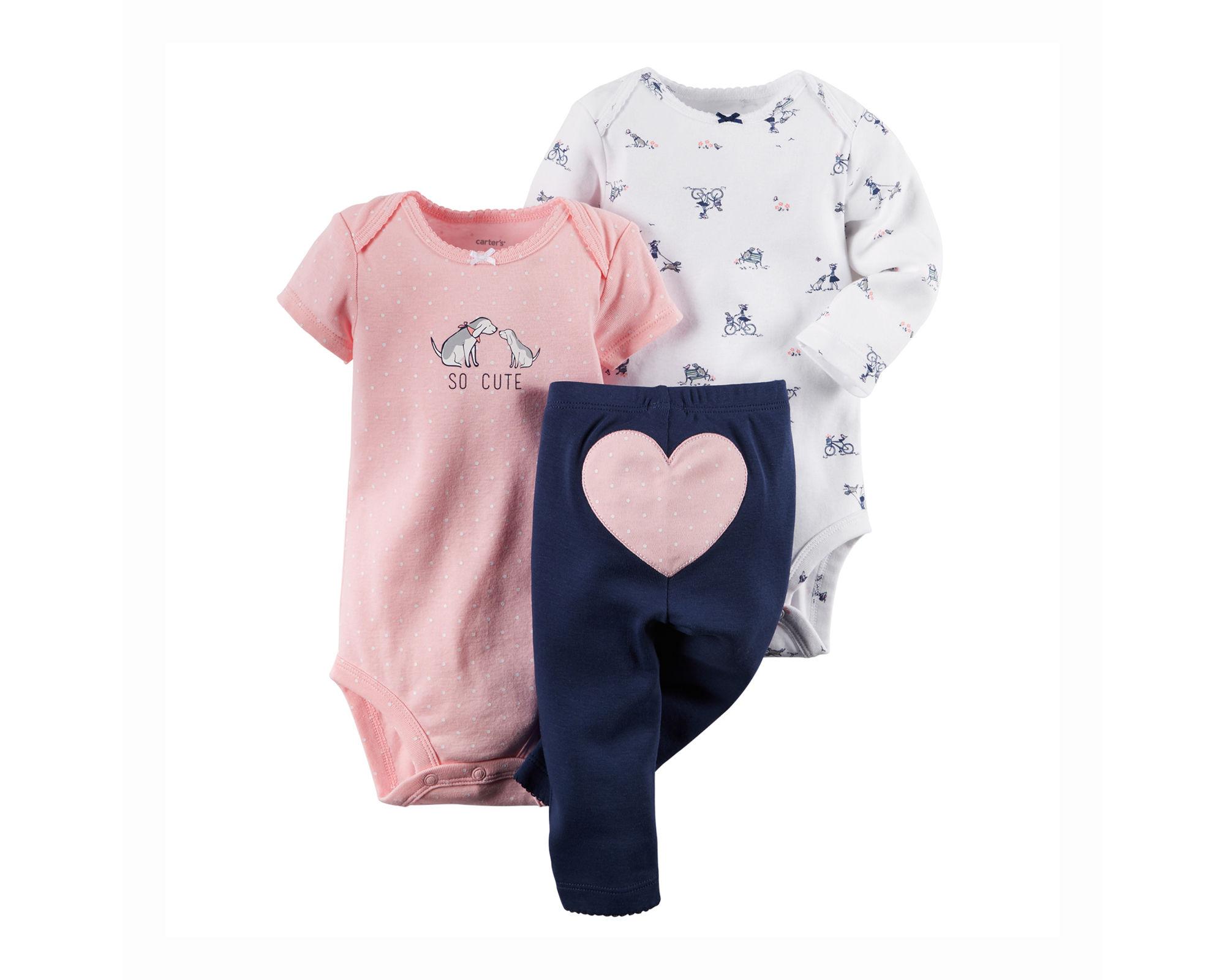 UPC Carter s Bodysuits and Pants Set Baby Girls