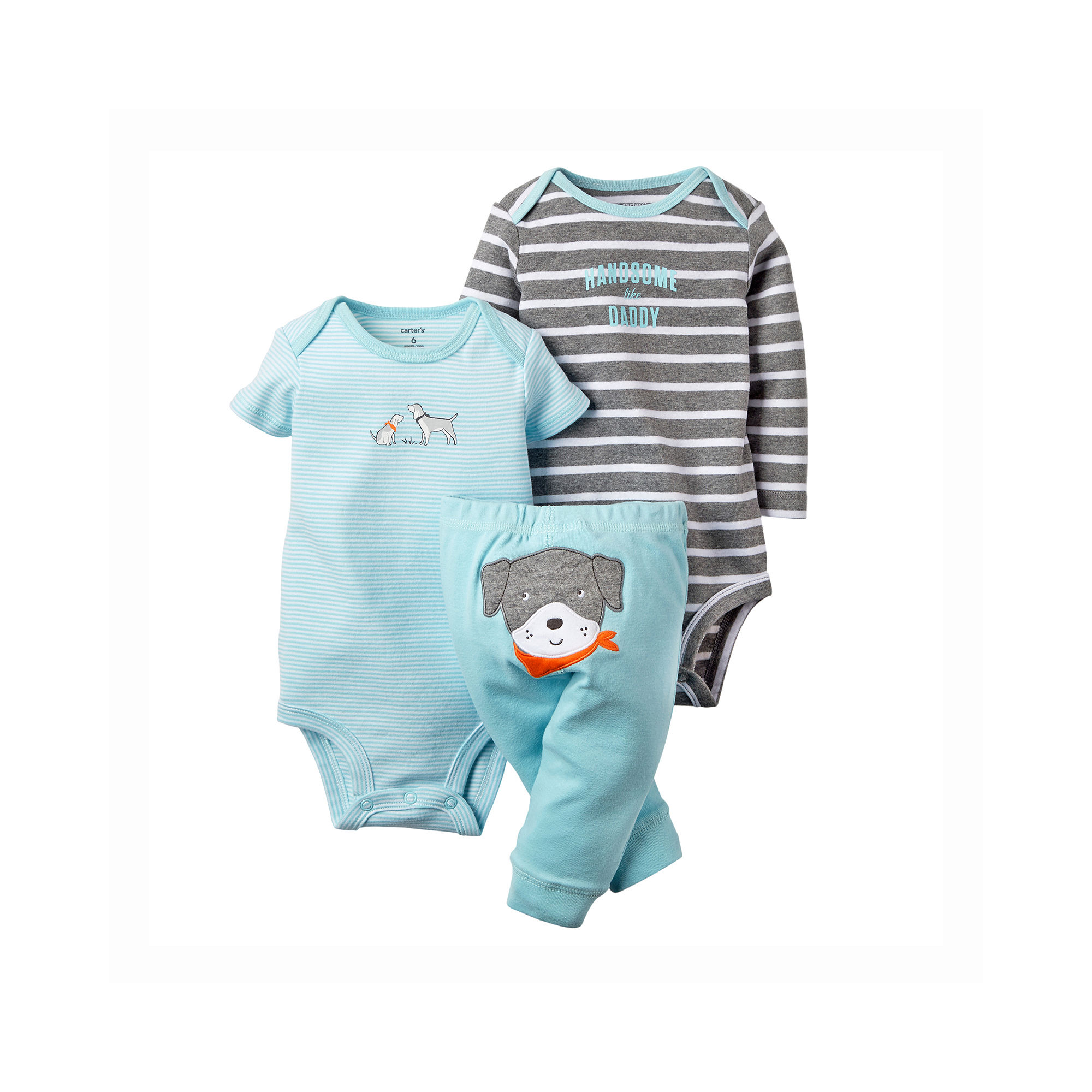 c5431d8af UPC 888510756682 product image for Carter's Bodysuits and Pants Set - Baby  Boys newborn-24m ...