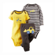 Carter's® Bodysuits and Pants Set - Baby Boys newborn-24m