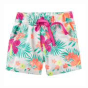 Carter's® Tropical Shorts - Toddler Girls 2t-5t